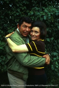 Patricia Neal and Claude Akins