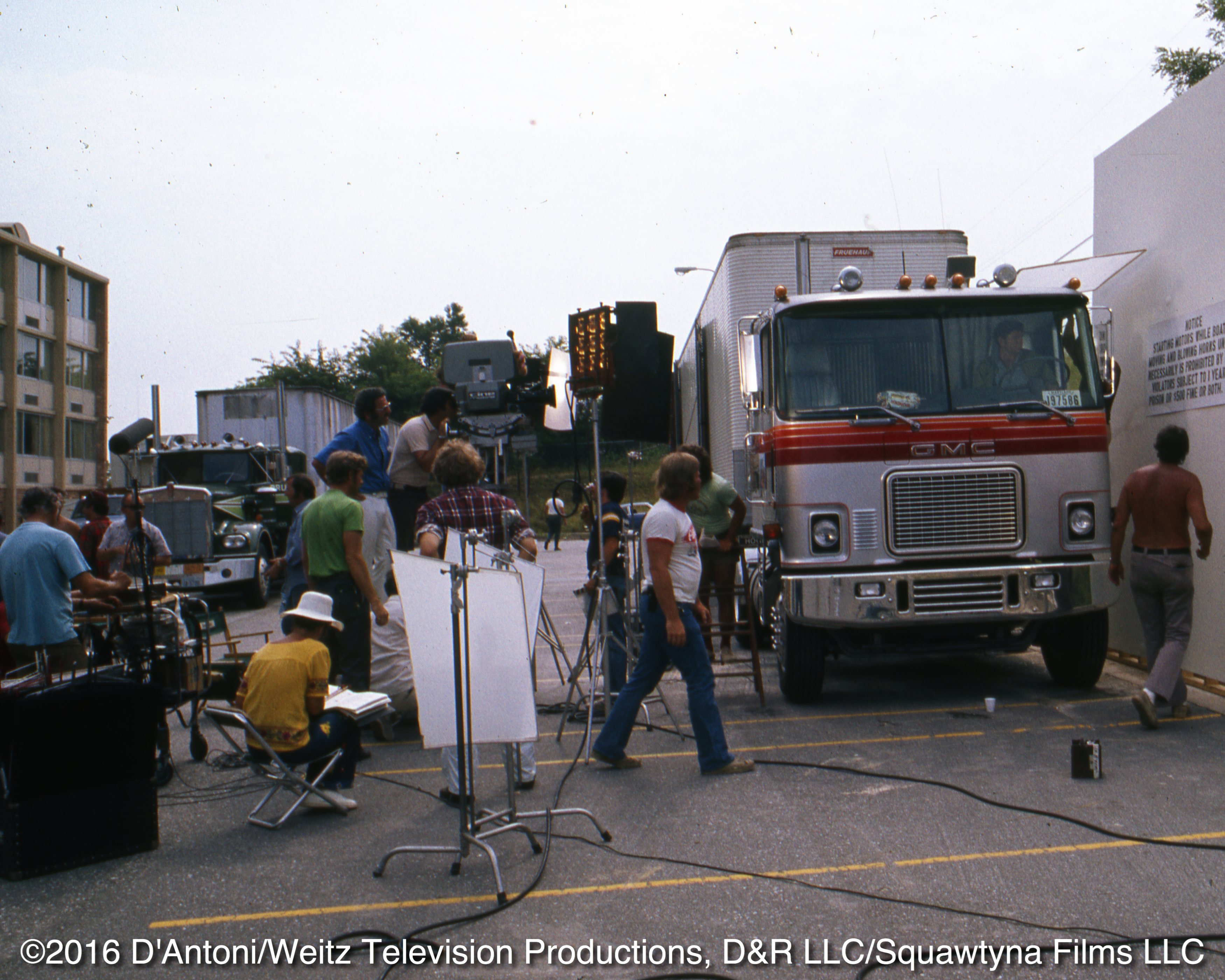 Crew at work on episode From Baltimore To Eternity