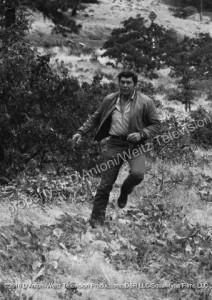 Claude Akins running