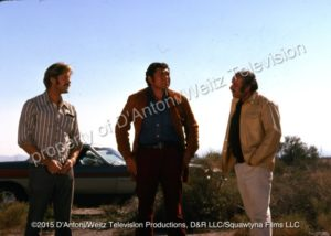 "Tyrone ""Jerry"" Malone with Claude Akins and Frank Converse"