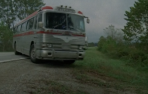 Bus stunt