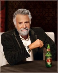 "Jonathan Goldsmith several years after ""Good For Laughs"""