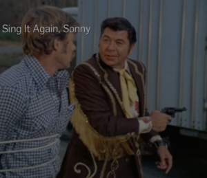 "Will Chandler and Sonny Pruitt in ""Sing It Again, Sonny"""
