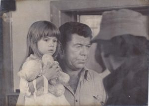 Alison Grooms and Claude Akins