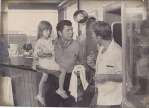 Alison Grooms, Claude Akins and Frank Converse