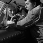 Claude Akins and Janet Leigh