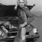 Janet Leigh has car trouble