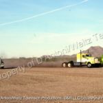 Three Kenworth tractors race in Movin' On