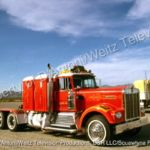 Tyron Malone's Kenworth double sleeper as seen in Movin' On