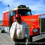 "Tyrone ""Jerry"" Malone and his double sleeper Kenworth"