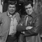 Claude Akins and John Schuck