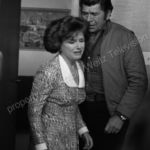 Claude Akins and Kelly Jean Peters