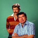 Frank Converse and Claude Akins