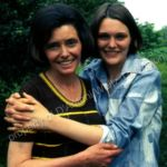 Patricia Neal and her daughter, Tessa Dahl