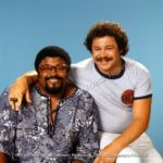 Rosey Grier and Art Metrano
