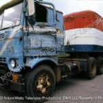 GMC Cabover and trailer known as Pigpen in Movin' On