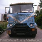 Front view of GMC Cabover known as Pigpen in Movin' On