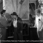 Claude Akins, John Qualen and Frank Converse