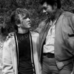 Claude Akins and Clint Howard